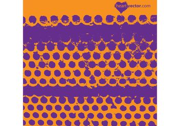 Grunge Dots Vector - Free vector #144577