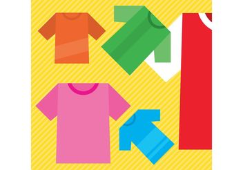 Shirt Vector Pack - Free vector #144677