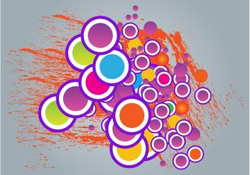 Circles Graphics - Free vector #144687