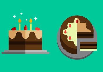 Free Cake Vector Pack - Free vector #144837