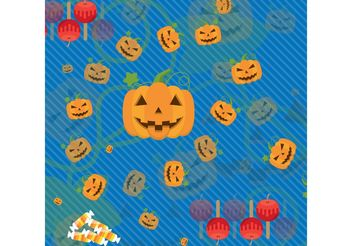 Halloween Vector Background - бесплатный vector #145027