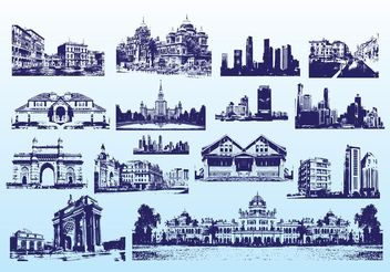 Free Buildings - vector #145137 gratis