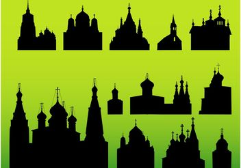 Church Vectors - vector #145157 gratis