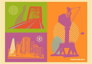Construction Vectors - vector gratuit #145167