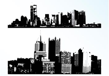 Vector Cities - Free vector #145247