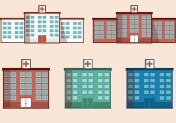 Free Vector Hospital Building - Kostenloses vector #145407