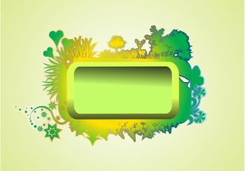 Nature Vector Banner - Free vector #145517