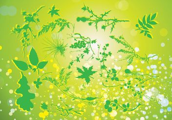Green Nature Vector - Free vector #145567