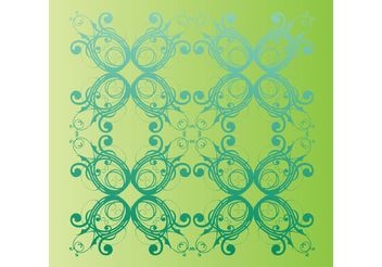 Spring Nature Pattern - Free vector #145657