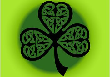 Four Leaf Clover - vector gratuit #145687