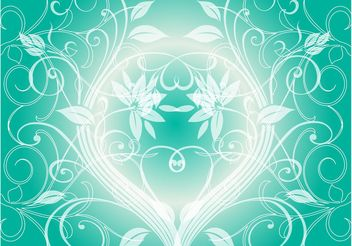 Green Plants Background - vector gratuit #146007