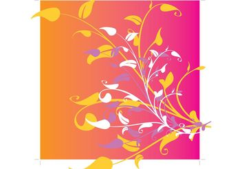 Plant Flowers Graphics - vector #146067 gratis