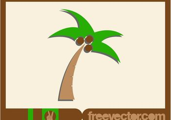 Palm Icon Vector - бесплатный vector #146427