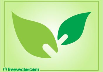 Leaves Icon Vector - vector gratuit #146437