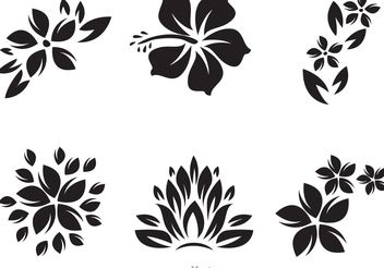 Hawaii Tribal Vectors - vector gratuit #146707