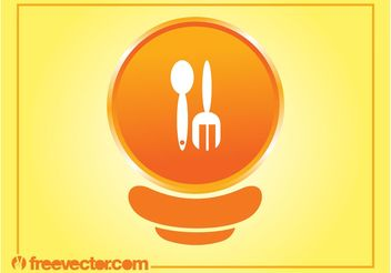 Food Icon Vector - vector gratuit #146787