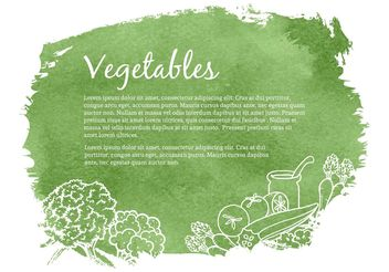 Free Drawn Vegetables Vector Illustration - vector gratuit #146847