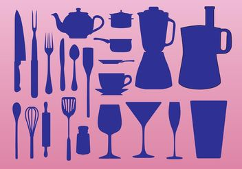 Kitchen Elements - vector #147317 gratis