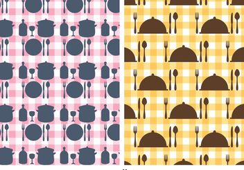 Free Kitchen Utensils Vector Pattern - Free vector #147407