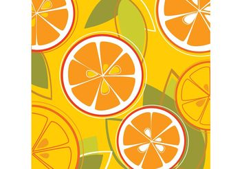 Orange Graphics - Free vector #147517