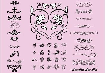 Design Elements Pack - Free vector #147857