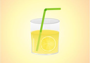 Lemonade Vector Graphics - vector gratuit #147927