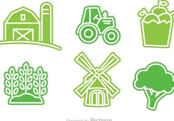 Vector Farmers Icons - бесплатный vector #148017