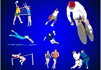 Sports Designs - vector gratuit #148117