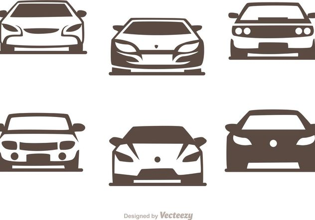 Cars Silhouette Vector Pack of Sports Cars - vector gratuit #148397