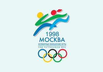 1998 World Youth Games - vector gratuit #148507