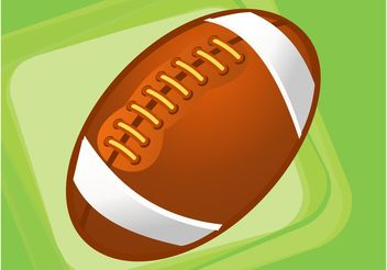 Rugby Ball - vector gratuit #148597