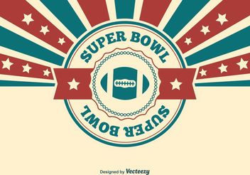 Super Bowl Illustration - Free vector #148617
