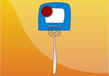 Basketball Graphics - Kostenloses vector #148767