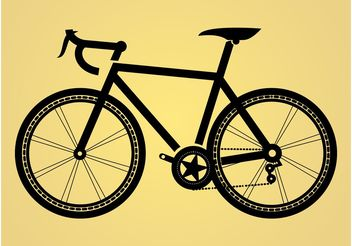 Bicycle Illustration - Free vector #148777