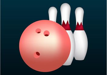 Bowling Graphics - vector gratuit #149067