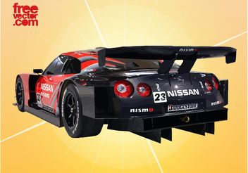 Race Car Vector Two - Free vector #149147