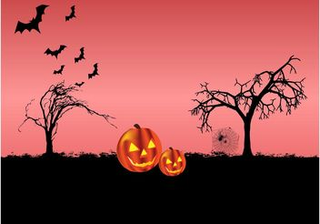 Halloween Night - Free vector #149277