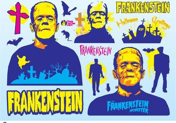 Frankenstein Graphics - vector gratuit #149287
