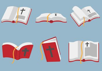 Open Bible Vector Art - vector gratuit #149407