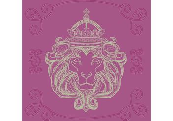 Hand Drawn Lion Of Judah Vector - vector gratuit #149757