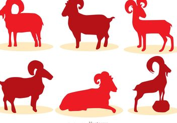 Chinese New Year Goat Vector - Free vector #150207