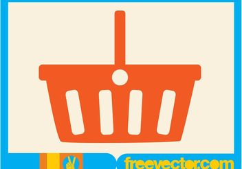 Shopping Basket - Free vector #150397