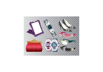 Fashion Accessories - vector #150427 gratis