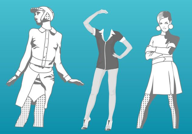 Illustration vectorielle Fashion - vector gratuit #150527
