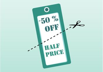 Discount Vector Label - Free vector #150697