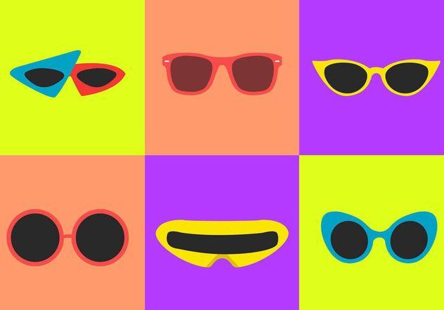 5964496e1af1 80 s Sunglasses Vectors Free Vector Download 150857