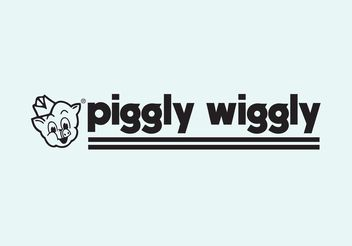 Piggly Wiggly - Free vector #150947