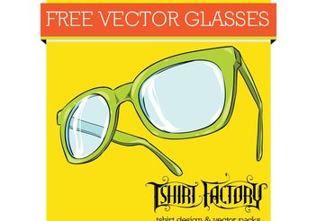Free Glasses Vector - vector #151217 gratis