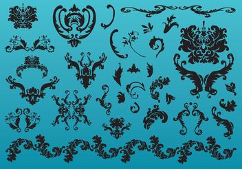 Elegant Decoration - Free vector #151277