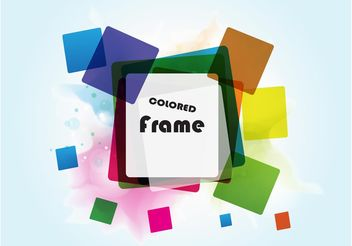 Squares Frame - Free vector #151657